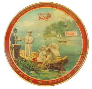 Breweriana Serving Tray, Pre-Prohibition E. Robinson's