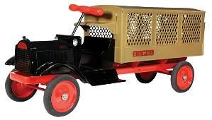Toy Truck, Keystone Packard U.S. Mail Ride-Em, pressed