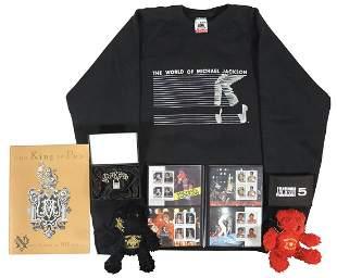 Michael Jackson Tour Merchandise & Memorabilia (7),