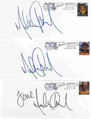 Michael Jackson Personally Signed Tribute Covers (3),