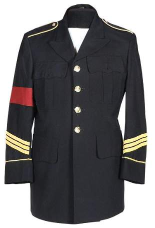 Michael Jackson Owned And Personally Worn Military