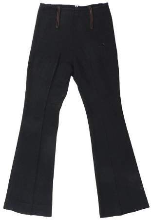 Michael Jackson Personally Owned & Worn Black Trousers,
