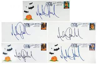 Michael Jackson Personally Signed Tribute Covers (5),
