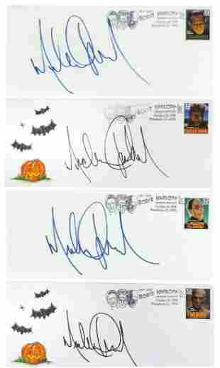 Michael Jackson Personally Signed Tribute Covers (4),