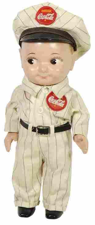 Coca-Cola Buddy Lee Doll, c.1950s, plastic, Union Made