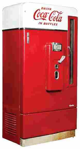 Coca-Cola Coin-Operated Vending Machine, Vendo Model