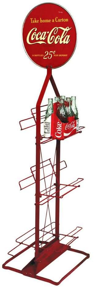 Coca-Cola Bottle Rack, Take Home A Carton, 25 Cents