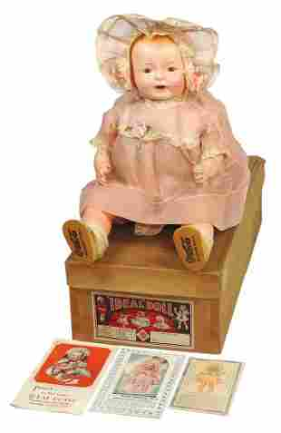 """Coca-Cola Doll, Very Rare Ideal """"Wonder Doll"""" in orig"""