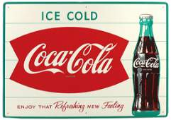 Coca-Cola Sign, Ice Cold Coca-Cola Enjoy The Refreshing