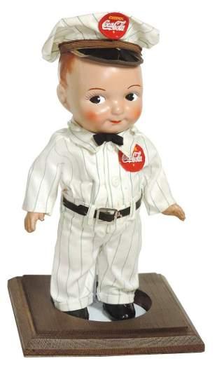 Coca-Cola Buddy Lee Doll, c.1950s, composition,
