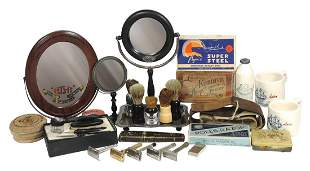 Barbering Accoutrements (27), Victorian shaving stand