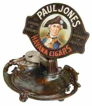 Cigar Cutter w/Advertising, Paul Jones Havana Cigars