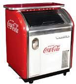 Coca-Cola Bottle Cooler, Victor Single Door, Scarce