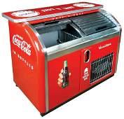 Coca-Cola Cooler Bar, Victor, double compartment