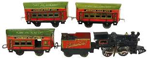 Coca-Cola American Flyer Train Set (5 pcs), Rare, Model