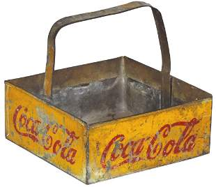 Coca-Cola Vendor's Carrier, Scarce 12 bottle carrier,