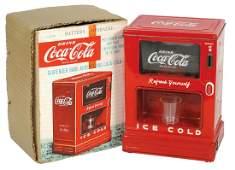Coca-Cola Toy Dispenser Bank in Orig Box, c.1950s,