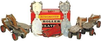 772: Winchester roller skates (3 pr.); 1 pr. new old st