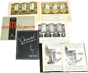 Kochs Barber Shop Catalogs (3); Modern Mirror Cas