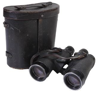 Militaria, WWII U.S. Navy Binoculars, Bausch & Lomb