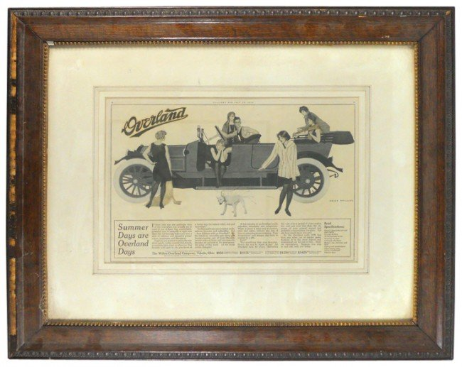 6: Overland automobile advertisement from Collier's Mag