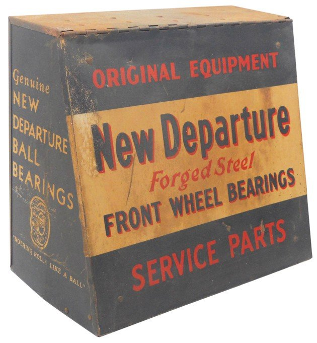 8: New Departure Front Wheel Bearings Service Parts cab