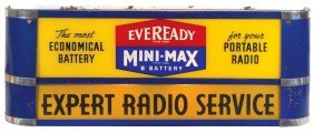 Eveready Mini-Max Battery Light-up Sign, Open Top,