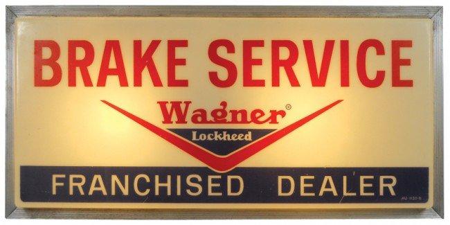 87: Wagner-Lockheed Brake Service Franchised Dealer lig