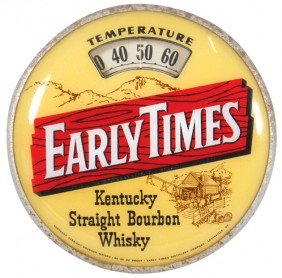 Early Times Kentucky Straight Bourbon Whiskey Scal