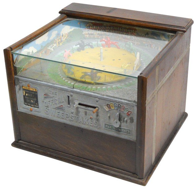 837: Coin-operated trade stimulator, Rockola Sweepstake
