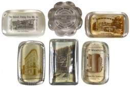 983: Advertising paperweights (6), Philadelphia Safe De