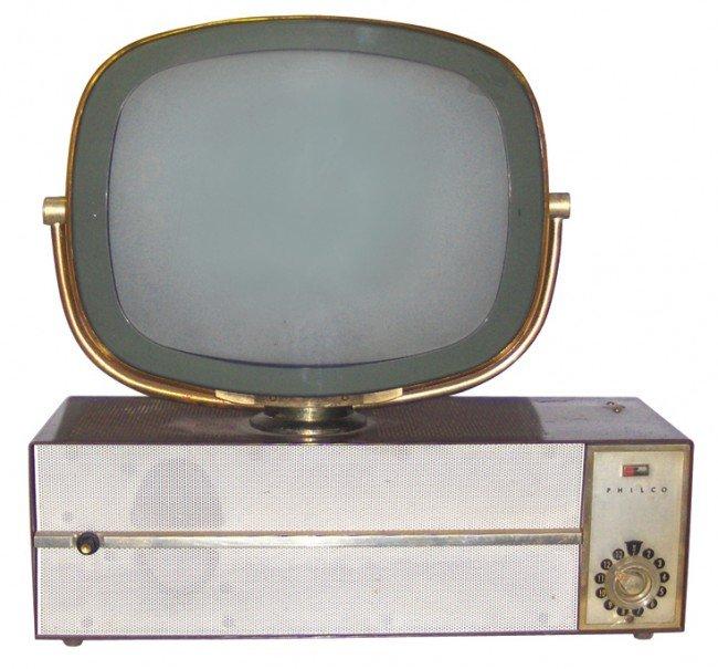 1130: Mid-century television, Philco Predicta, c.1950's