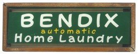 Bendix Automatic Home Laundry Neon Counter Sign,