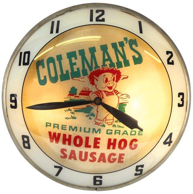 1146: Coleman's Whole Hog Sausage double-bubble light-u