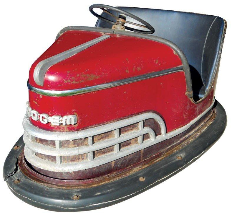 0231: Dodgem bumper car, from Riverview Park-Des Moines