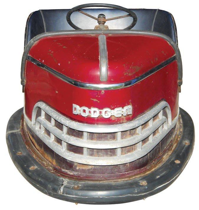 0231: Dodgem bumper car, from Riverview Park-Des Moines - 2