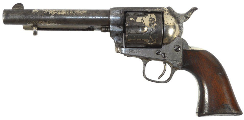 Firearm, Colt single action Army revolver, Early 1st ge