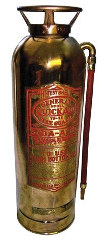 Fire extinguisher, General Fire Guard, Model Quick Aid,