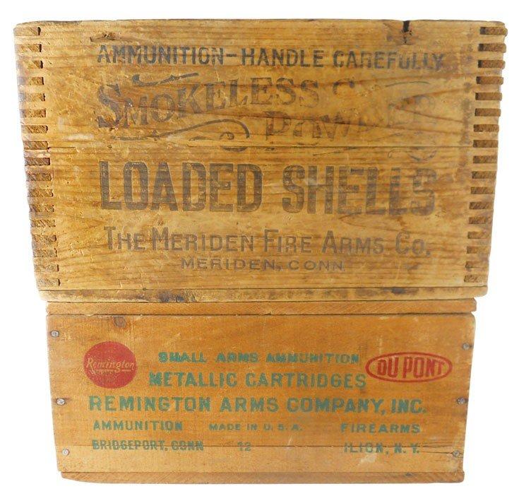 Ammunition boxes (2) Remington Arms Company, Inc. Hi-Sp
