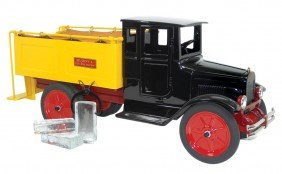 Toy, Buddy L Ice Truck In Box, #2-207, Pressed Steel, C
