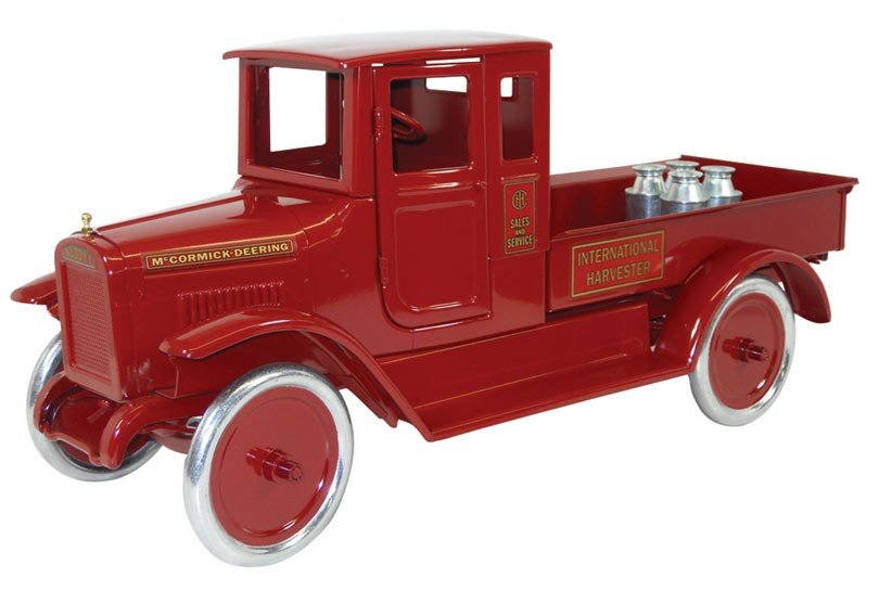 Toy, Buddy L Red Baby Express truck, contemporary, mfgd