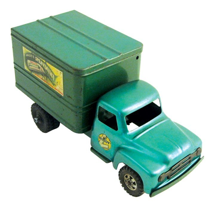 Toy, Buddy L Wrigley's Chewing Gum truck, pressed steel