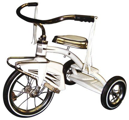 Child's tricycle, mfgd by Evans Products Co.-Plymouth,