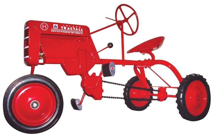 Pedal tractor, Inland Tractall, mfgd by Inland Mfg. Co.
