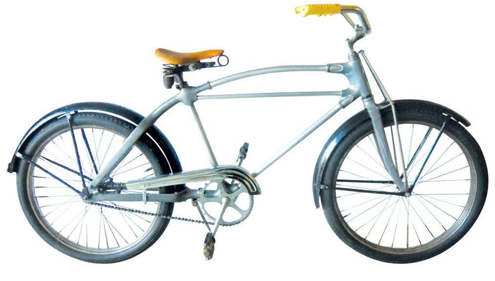 """Bicycle, Montgomery Ward's 24"""" Hawthorne w/cast aluminu"""