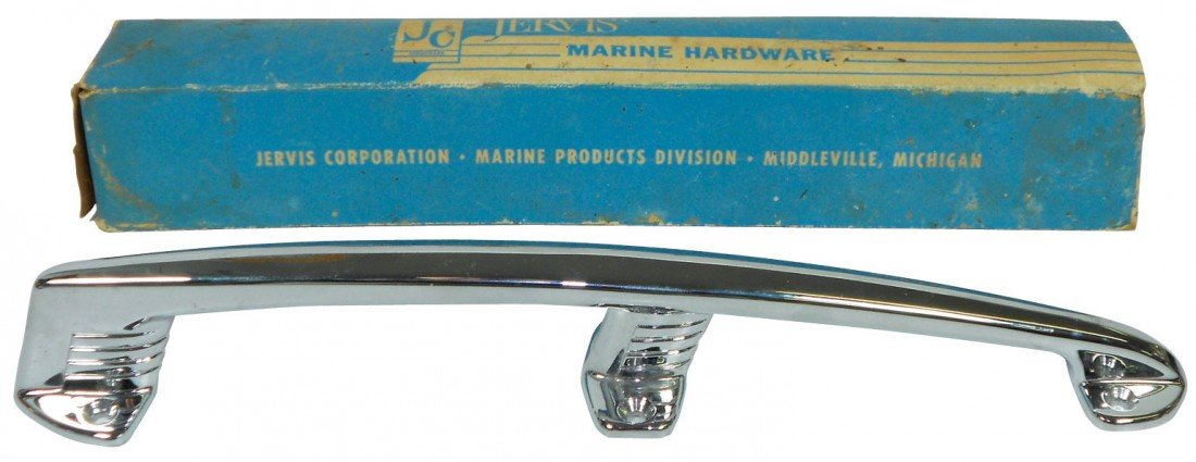0011: Boat accessories, bow handle & box, mfgd by Jervi
