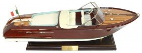 Boat, Scale Model, New Riva Speedboat By Seacraft