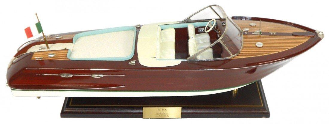 0021: Boat, scale model, New Riva speedboat by Seacraft