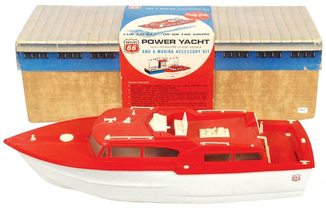 0024: Toy boats (2), Phillips 66 Power Yacht & Marina A