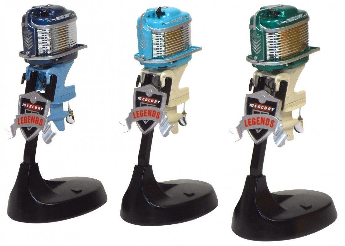 0063: Miniature outboard motors (3), Alterscale Mercury